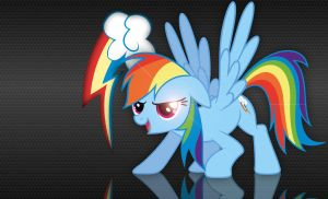 Rainbow Dash Wallpaper by BlazedPony