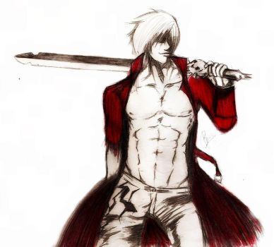 Dante - Devil May Cry 3. by PituuGMZ