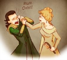 Mummy Frigga is not pleased by Arkham-Insanity