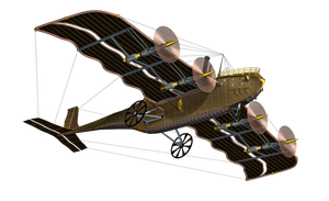 Steampunk Flying Machine 03 PNG Stock by Roys-Art