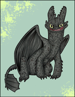 Toothless...Literally by ClownCarOnFire