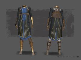 The Order - Female Knight Outfit by b-Worx