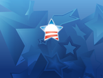 Obama Stars Wallpaper by TwisterMc
