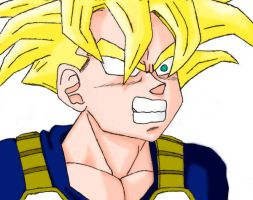Teen Gohan +colored+ by Mornie1