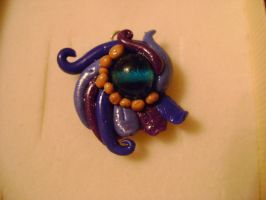 Fimo pendant by CheshireNene