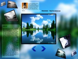 photo blog template by Grafilabs