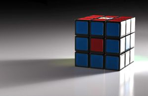 Rubiks Cube Render by csto