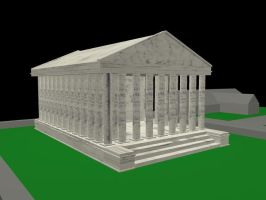 Temple of Claudius unfinished by skebz