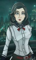Elizabeth: Burial at Sea (Colored). by frankaraya