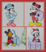 dA Card Project collage by WDWParksGal