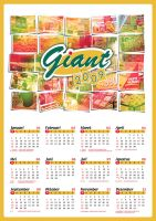 Calender Poster Giant by swarafun