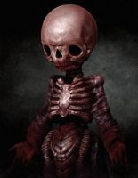 Red Ghoul by peacock3d