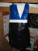 Duct Tape Dress by ThisMechaJunkie