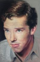 Benedict Cumberbatch Pastel Portrait- Completed by artbycourtneyg