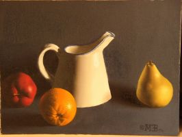 apple, orange, pear by deadhead16mb
