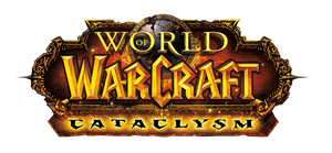 WOW - Cataclysm Logo Render by atty12