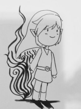link in ink by CrystalGJMZL
