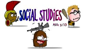 Social Studies Binder cover by Buscetti