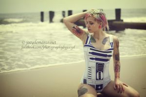 Sexy Star Wars: Vintage Artoo by JoeyDeMarco
