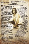 Tracey Emin collage tribute by paulodonovan
