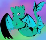 Little Dragon Pastel by Tora-and-Sora