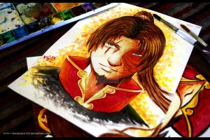 Fire Lord ZuZu- All Grown Up- Zuko by Randazzle100