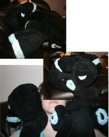 Umbreon neck pillow by MistyLake
