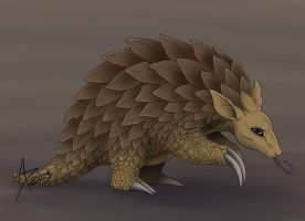 Pokemon Challenge: Sandslash by CliffeArts