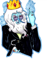 Adventure Time: Ice King by DeAtHofCopPeLIA