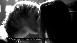 Tate And Violet, Love Quote. by howcouldyoudothat