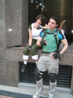 Chris and Rebecca by Chris--Redfield
