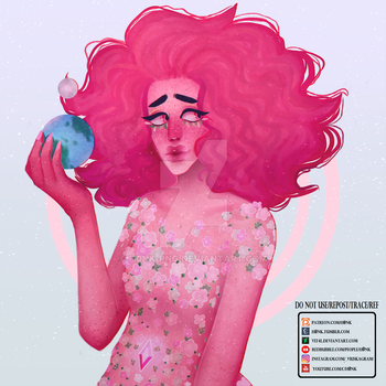 Steven Universe | Pink Diamond [Speedpaint] by Vit4l