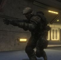 A Halo Reach Marine by counterfox