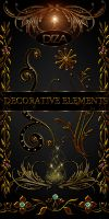 Decorative elements - 2 by DiZa-74