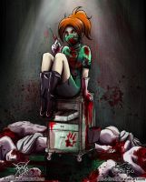 collab: cannibal nurse by Felolira