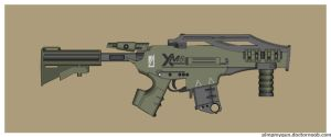 XM8-Shafrir SMG by Direrain