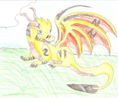 A gift for Goldey by narri-the-dragon