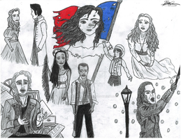 Les Miserables by DisneyTolkienFanGirl