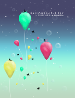 BALLONS IN THE SKY by luquituxxx