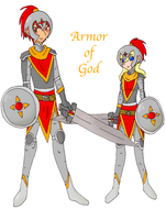 Armor of God by Keroanne