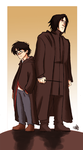 HP - Harry and Sev by Renny08