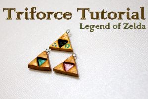 Triforce Charm Tutorial by GandaKris