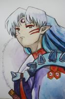 Sesshomaru by pierzyna
