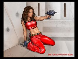 Bounty Hunter001 by ArtBennyRGrau