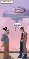 Inspector P.I. Returns in new comic strip #1! by RNABrandEnt
