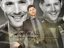 Happy 37th Birthday, Jensen! by Nadin7Angel