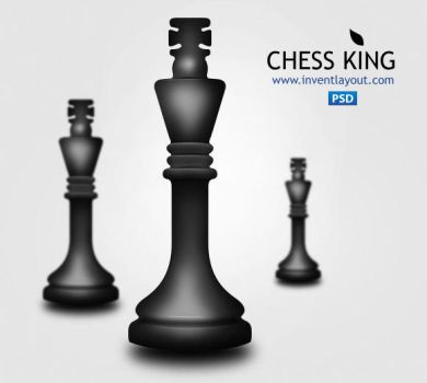Chess King PSD by atifarshad
