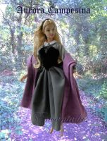 Aurora - Sleeping Beauty forest dress 2 by Encantadas