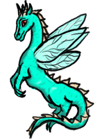 Adoptable Dragon-Fly, Points by LilWolfStudios