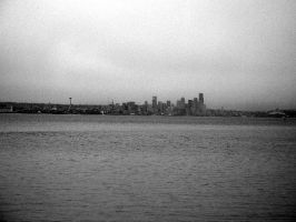 Seattle from the Sea by tragicalsmiles